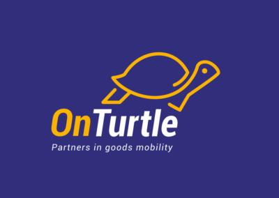 logo on turtle